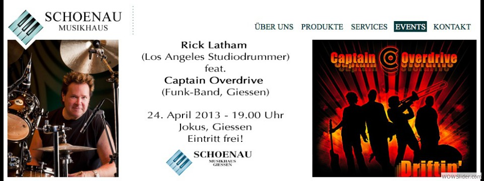 Clinic - Concert - Giessen, Germany