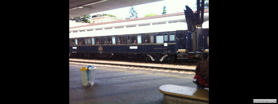 Passing The Orient Express